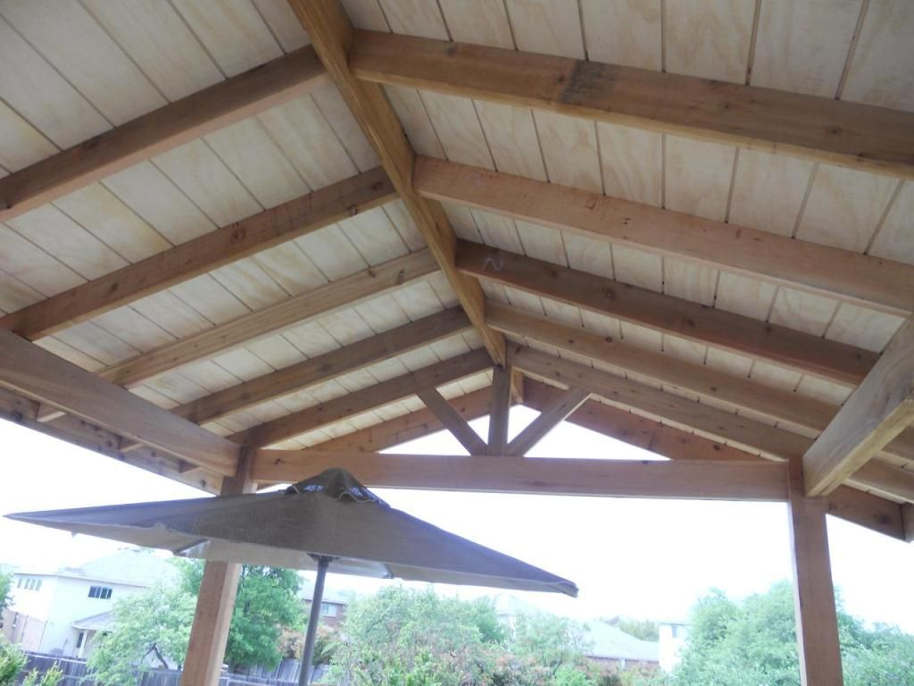 Free Patio Cover Blueprints Picture