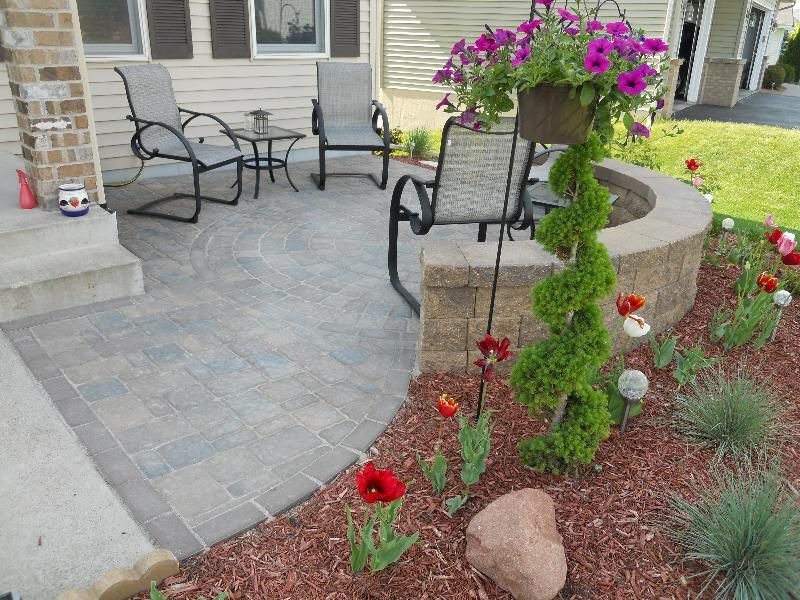 Image of: Front Patio Ideas Pictures