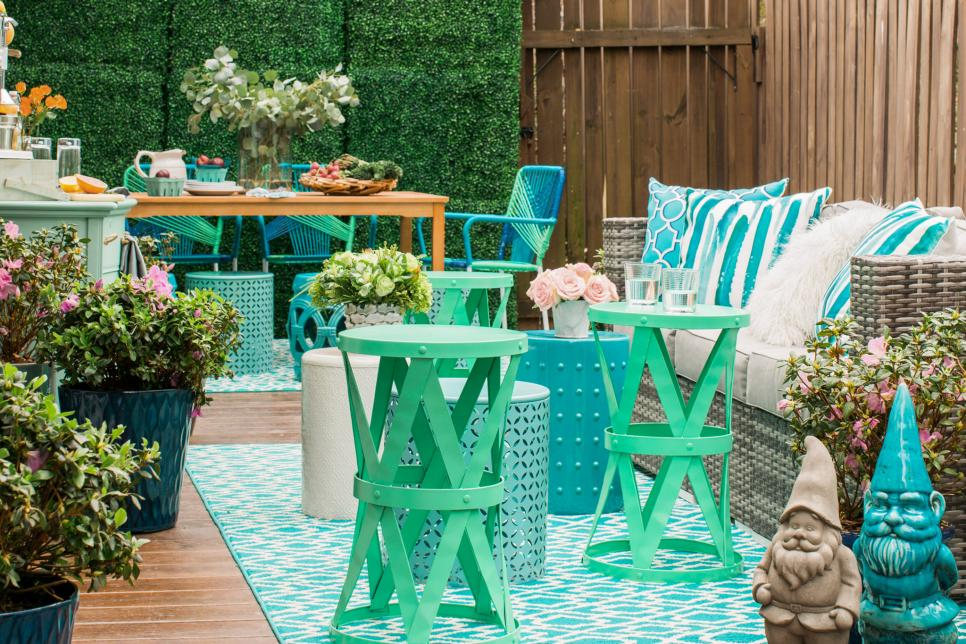 Image of: Home Depot Outdoor Patio Decor Ideas