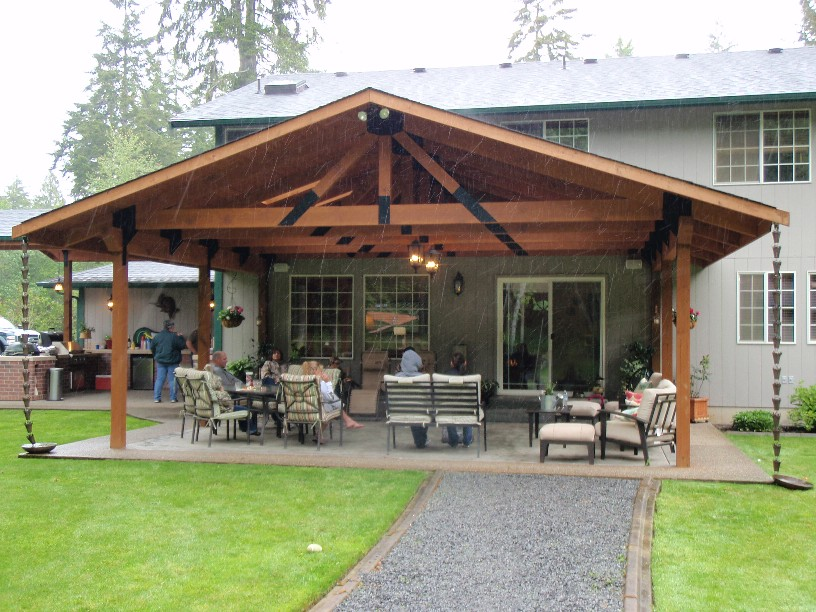 Image of: Ideas Build Patio Cover Plans