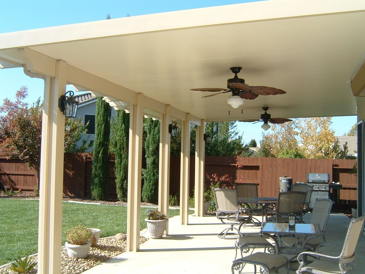 Image of: Insulated Outside Patio Cover