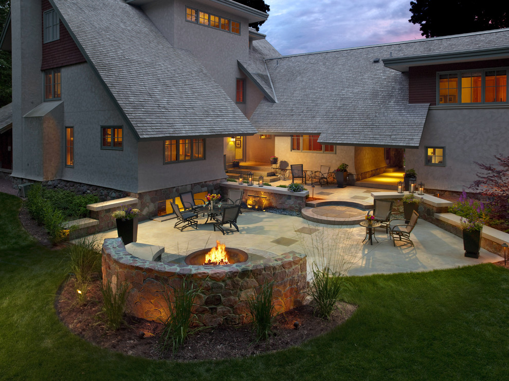 Image of: Interest Patio and Firepit Ideas