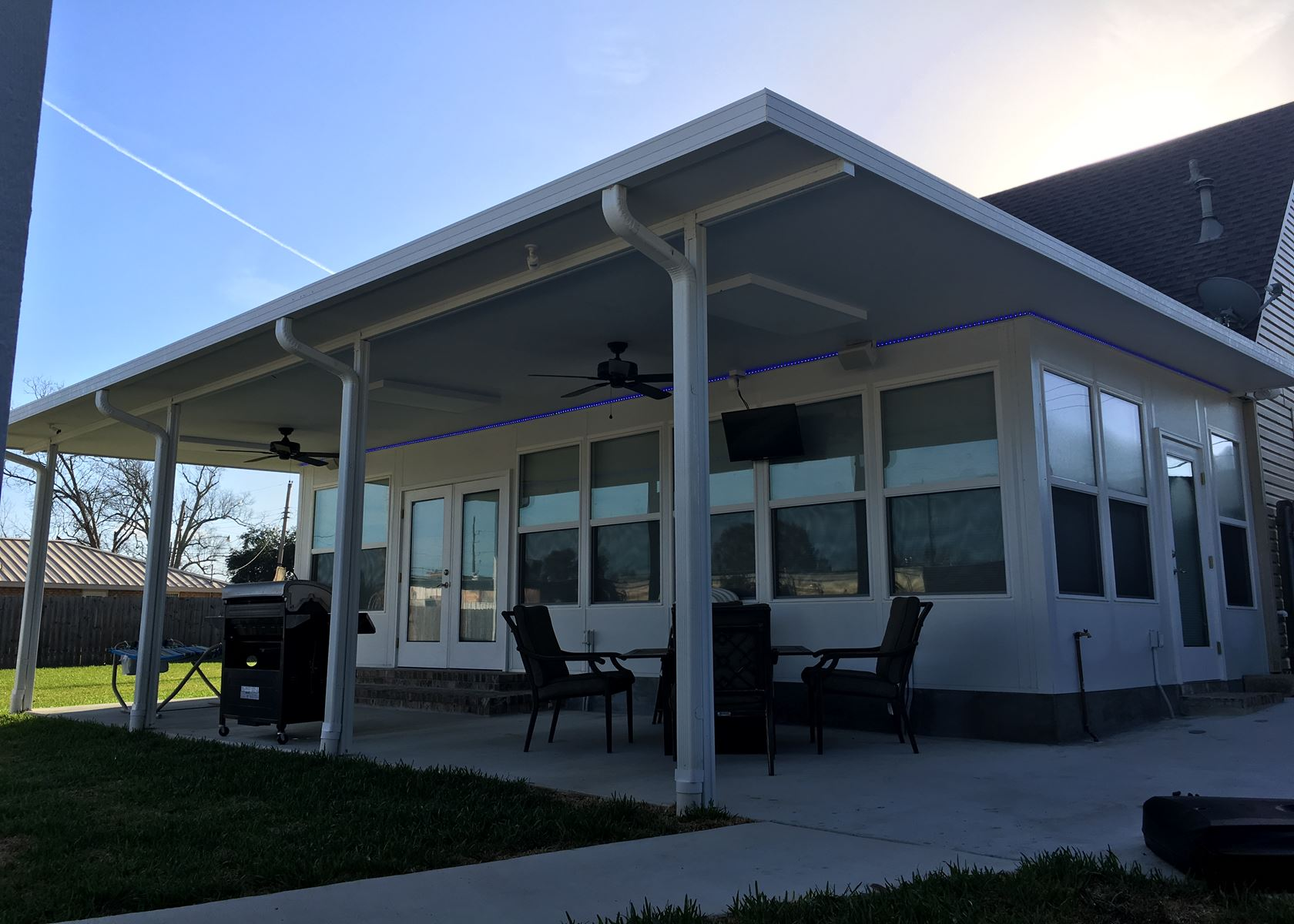 Modern Insulated Patio Cover