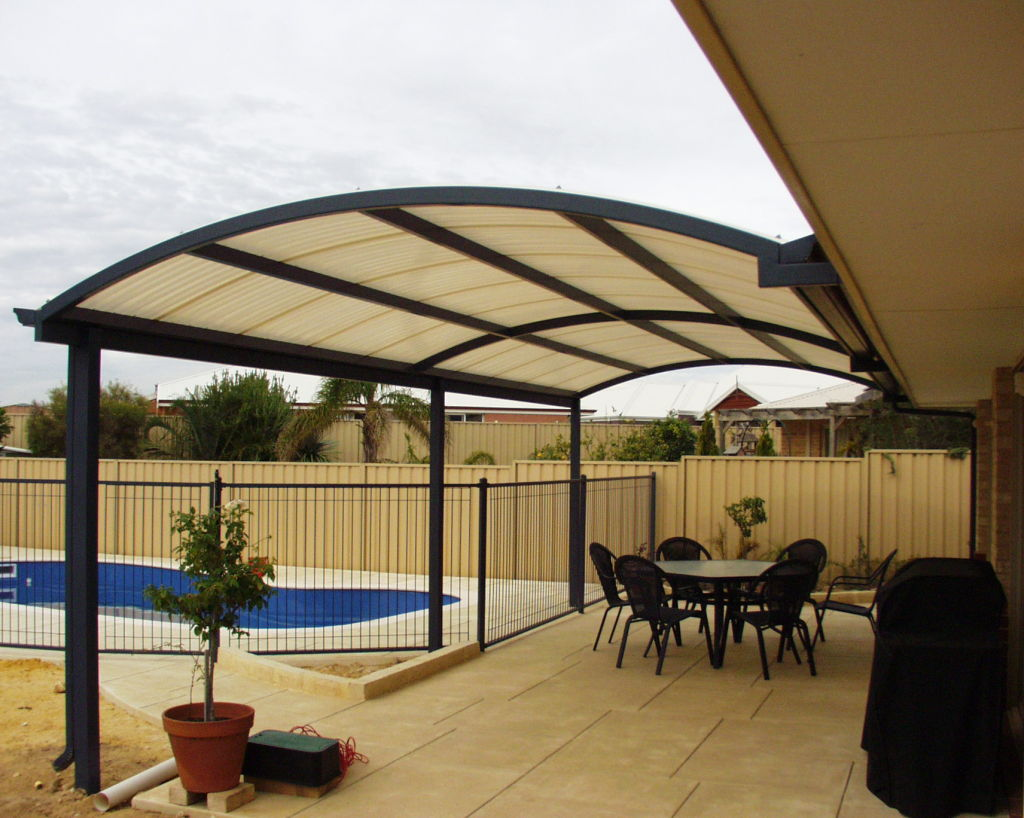 Image of: Modern Patio Awning Ideas