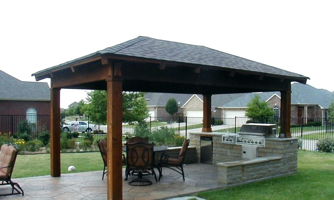 New Build Patio Cover Plans