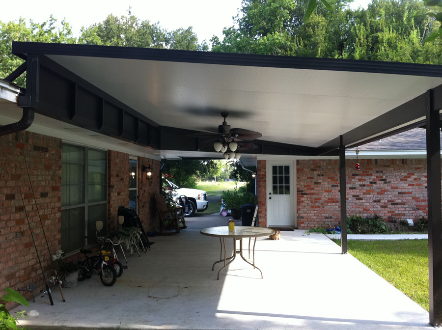 Image of: New Insulated Patio Cover