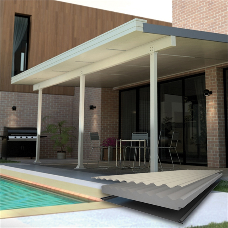 Nice Insulated Patio Cover Design