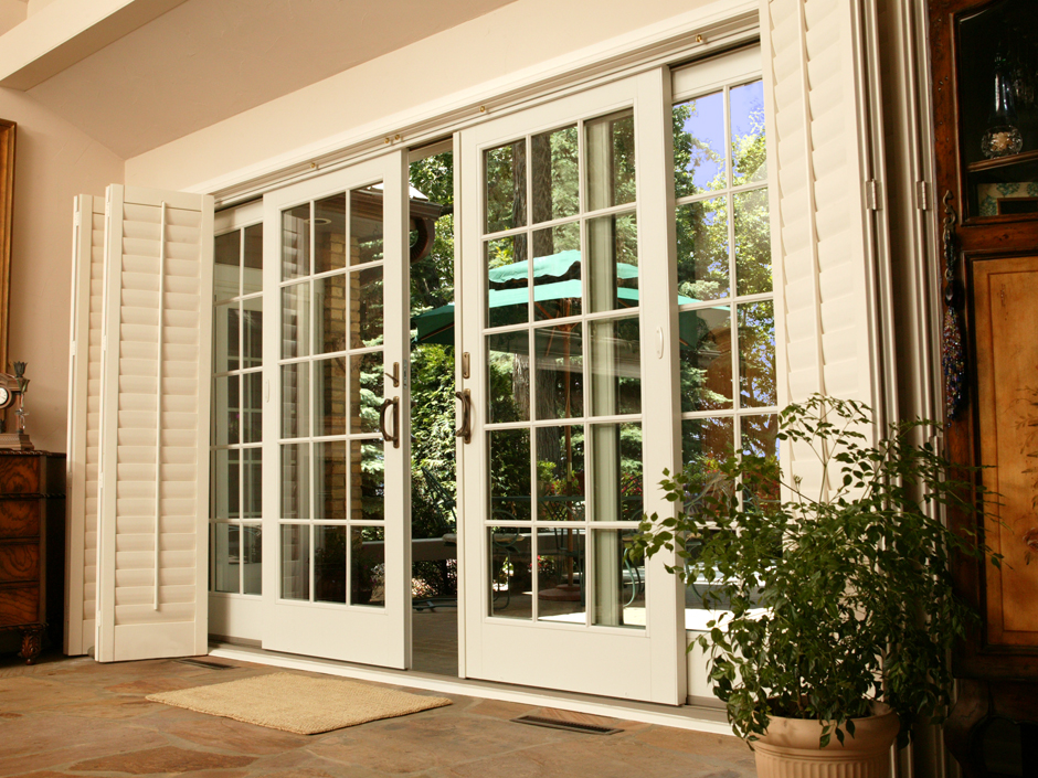 Image of: Nice Patio Door Ideas
