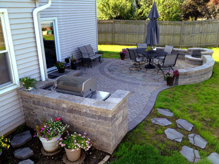 Image of: Original Backyard Grill Patio Ideas