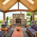 Outdoor Covered Patio Wood