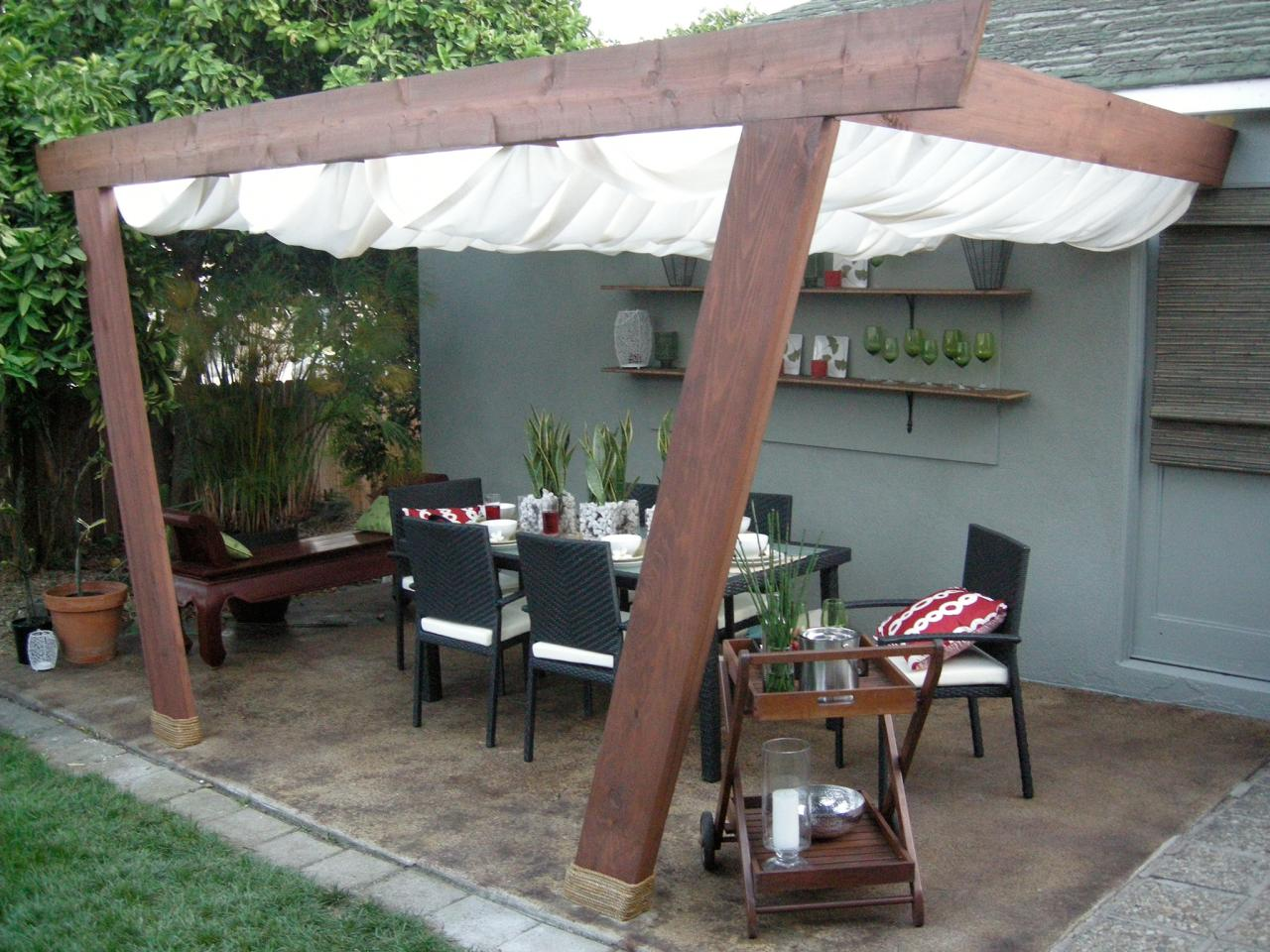 Image of: Outdoor Patio Cover Ideas Designs