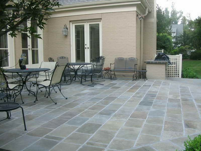 Image of: Outdoor Patio Tile Ideas Modern