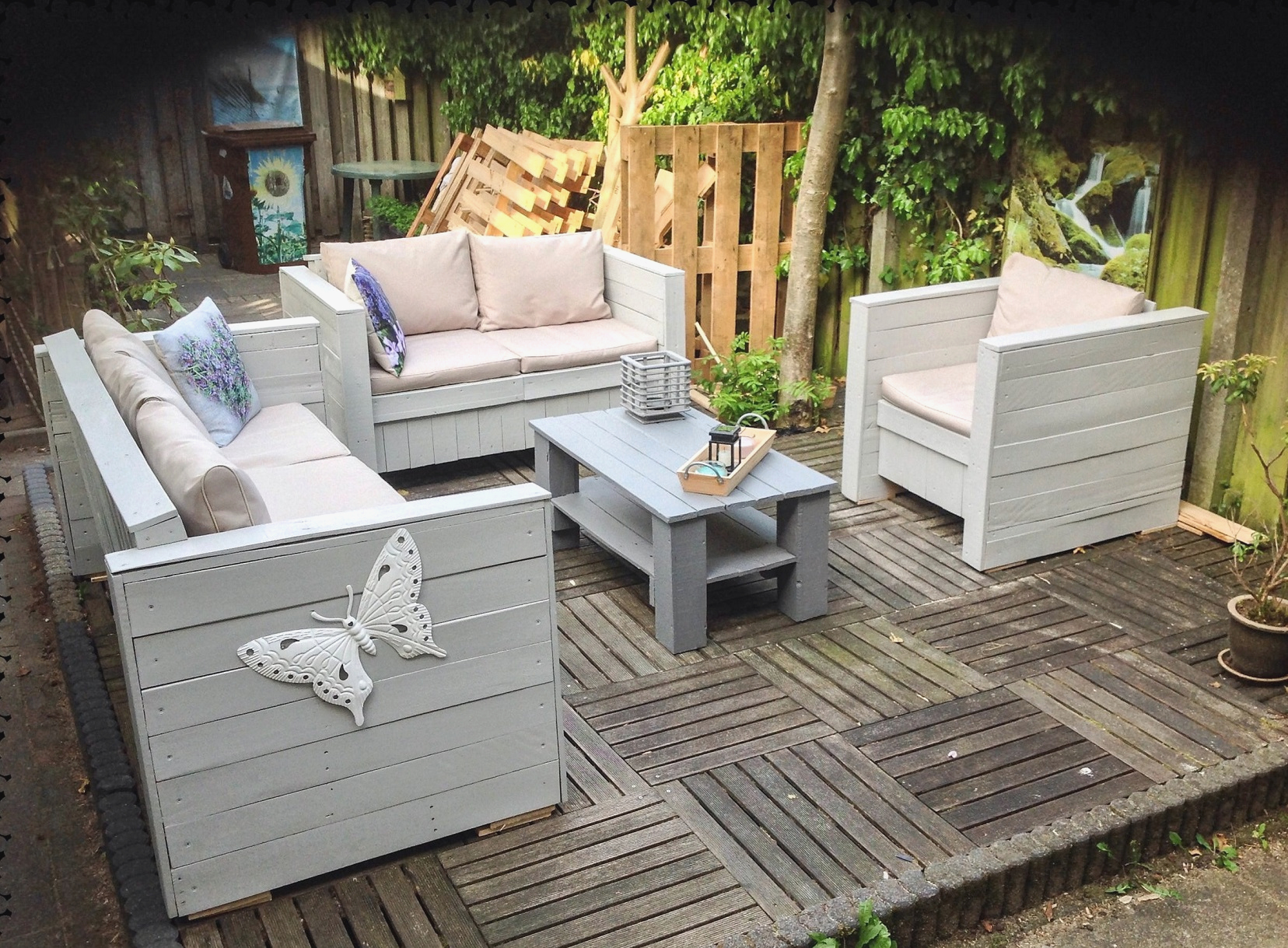 Image of: Pallet Patio Ideas Bar