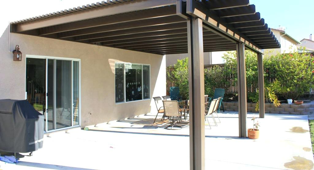 Image of: Patio Cover Designs Simple