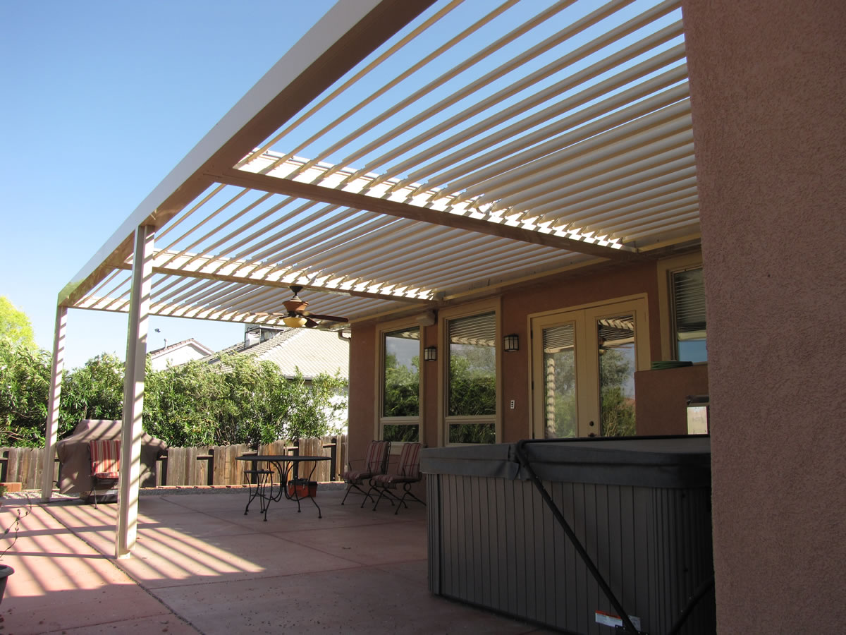 Image of: Patio Cover Material Design