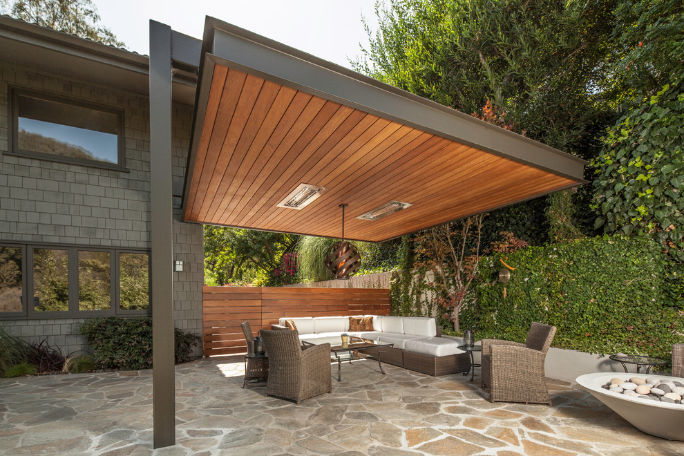 Image of: Patio Covers Wood