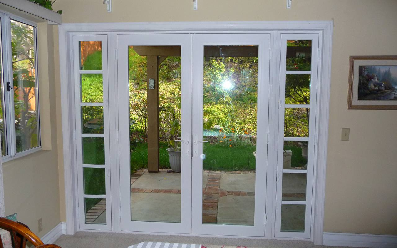 Image of: Patio Door Ideas French