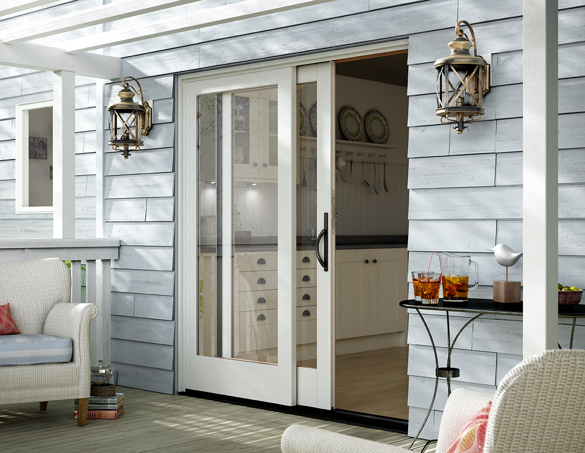 Image of: Patio Door Ideas Sliding
