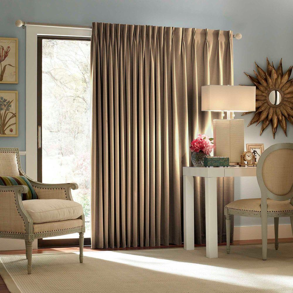 Image of: Patio Door Window Treatment Ideas Fabric