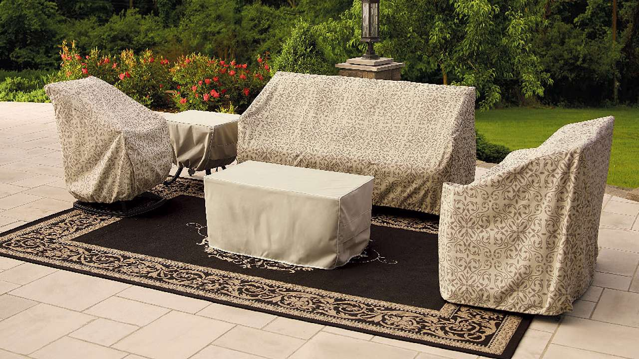 Patio Furniture Cover Pattern
