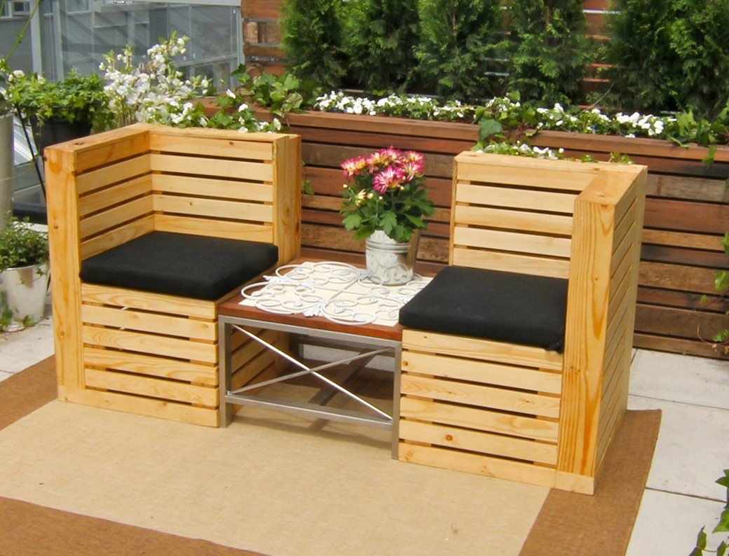 Image of: Patio Furniture Ideas Modern