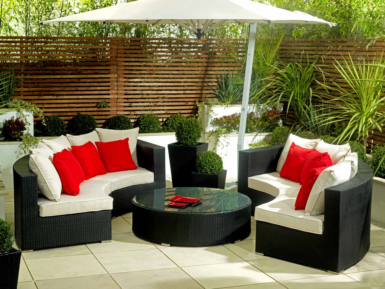 Image of: Patio Furniture Ideas Sets