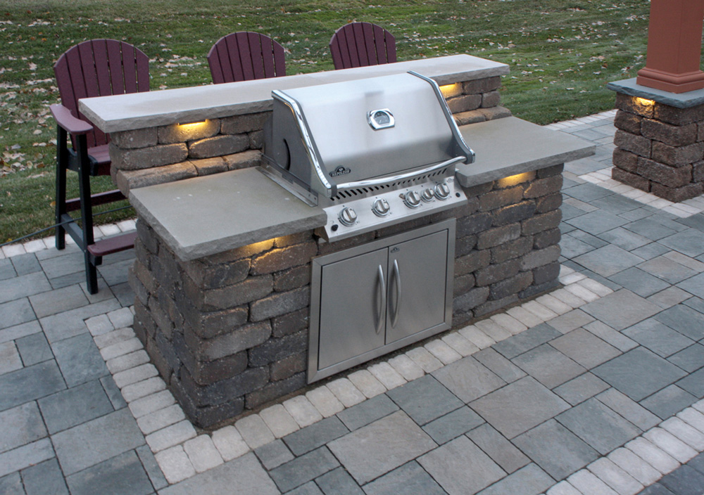 Image of: Patio Grill Ideas Gas
