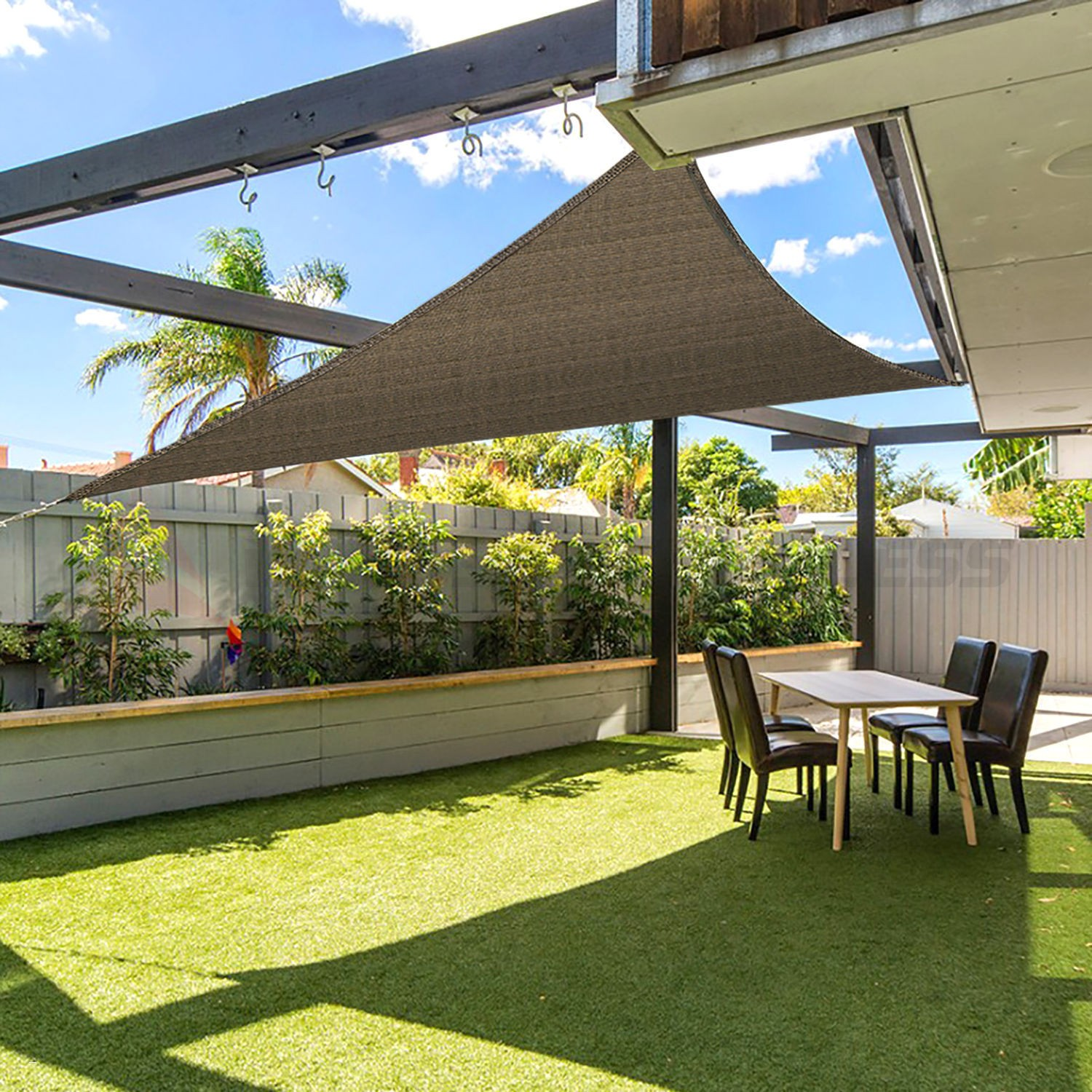 Image of: Patio Shade Cover Shapes