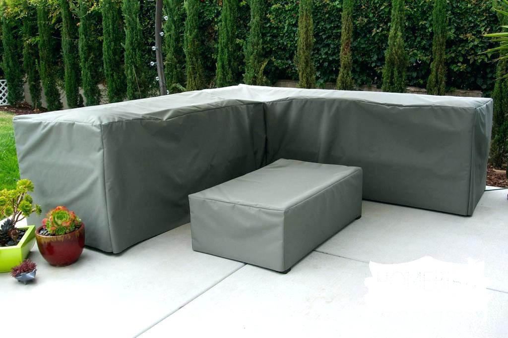 Image of: Patio Table Cover and Sofa