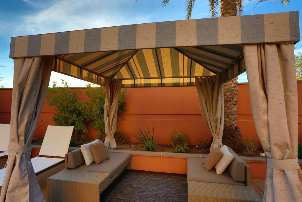 Image of: Phoenix Patio Awning Cover