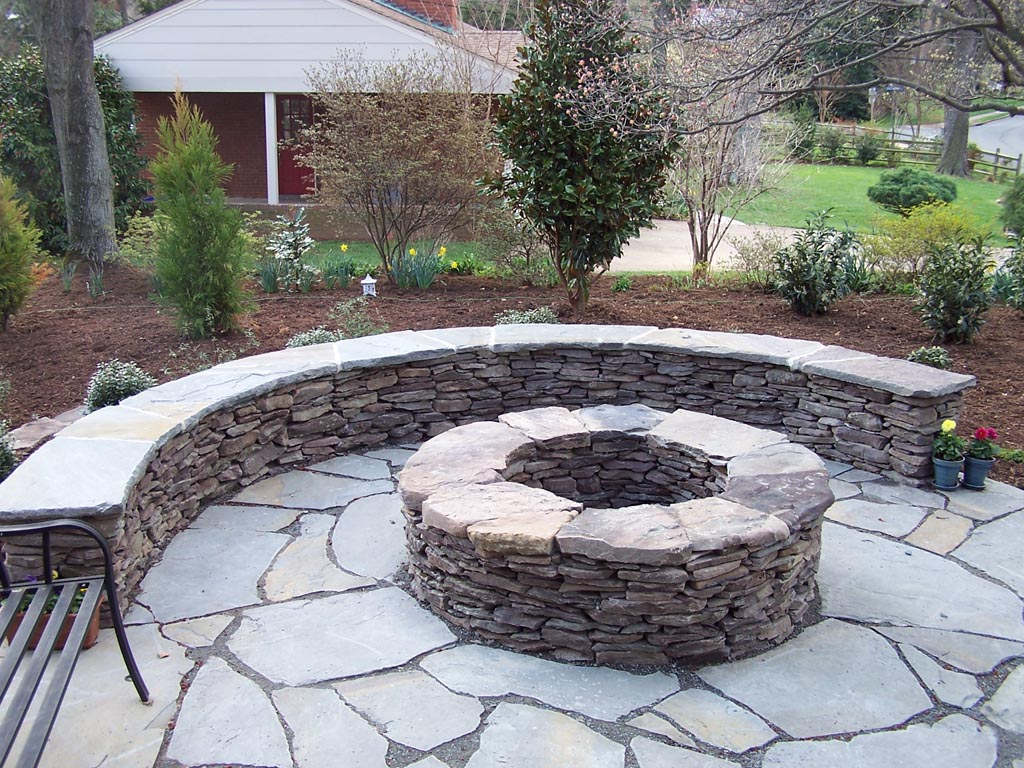 Image of: Picture Patio And Firepit Ideas