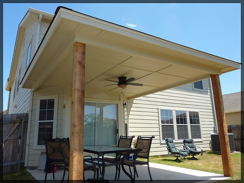 Image of: Remodeling Outside Patio Cover