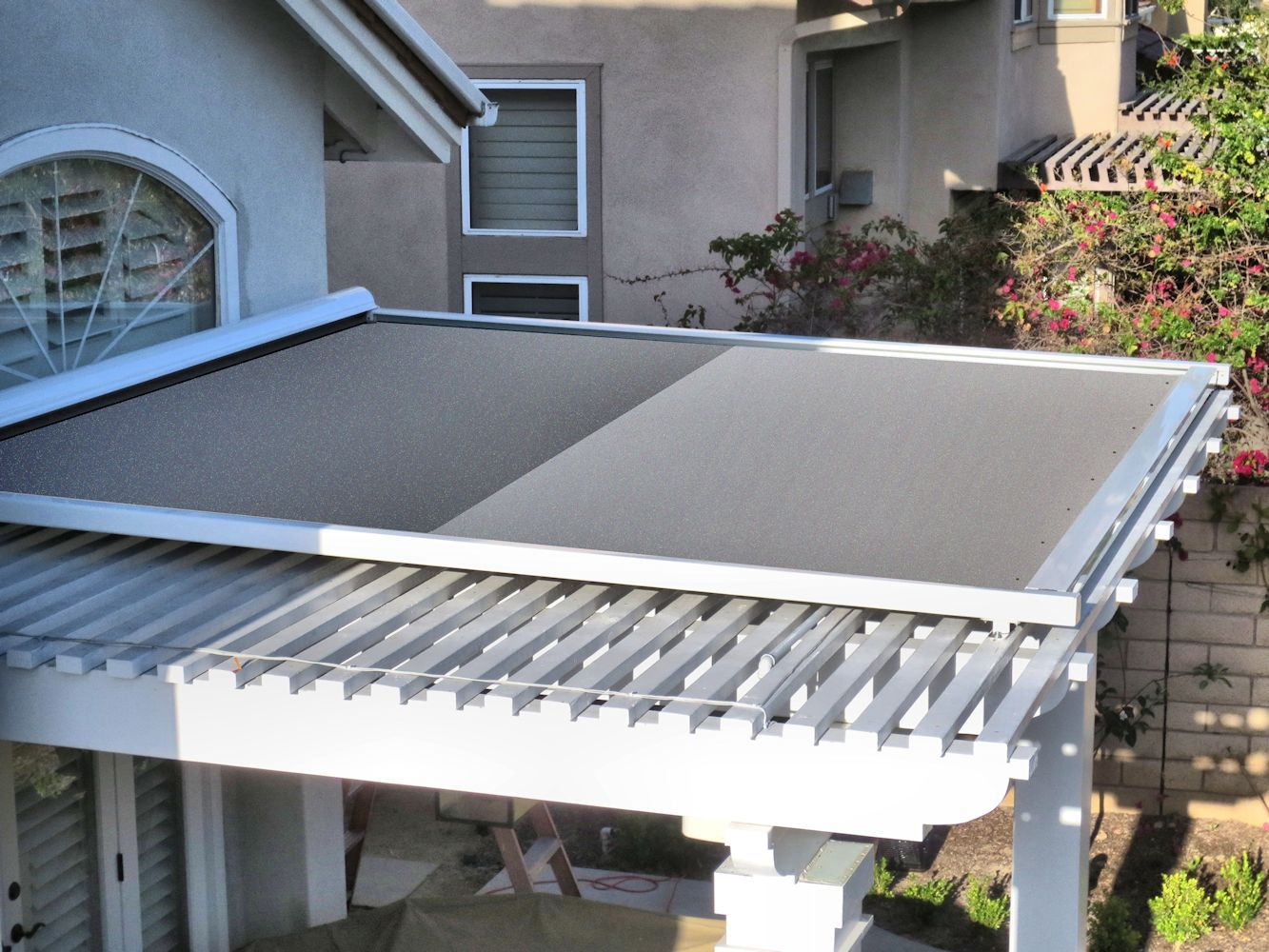 Retractable Patio Cover Panels