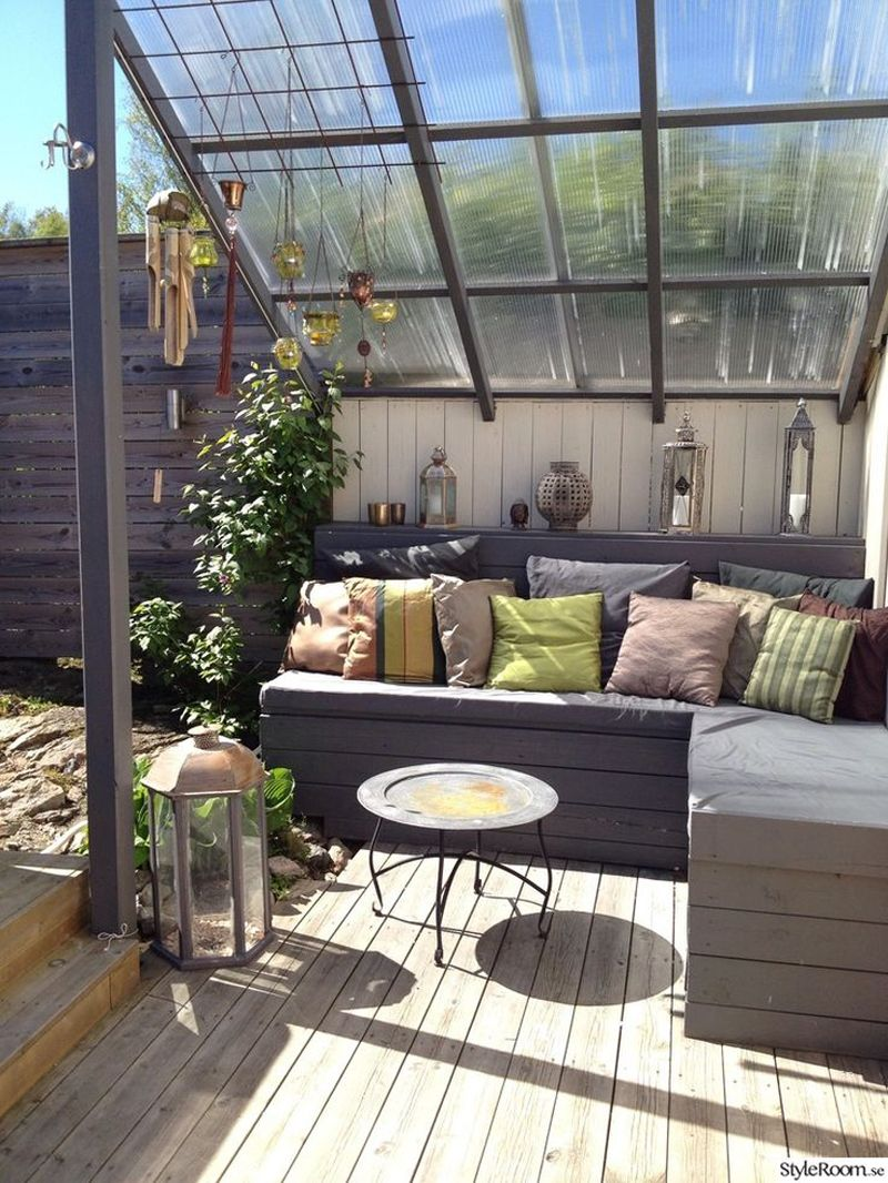 Image of: Rooftop Patio Ideas Small