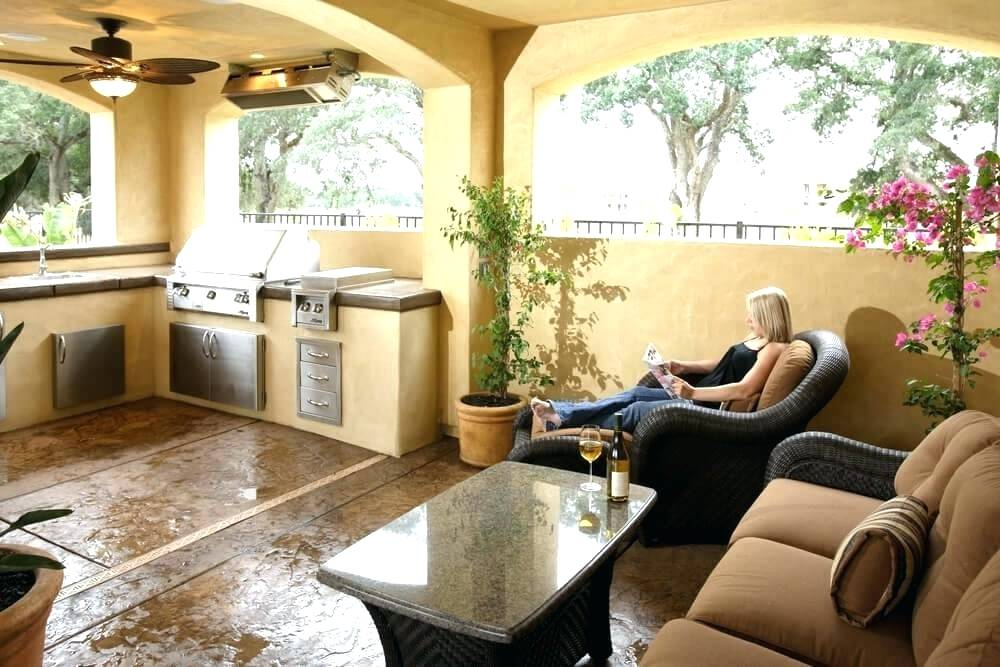 Image of: Set Up Indoor Patio Ideas