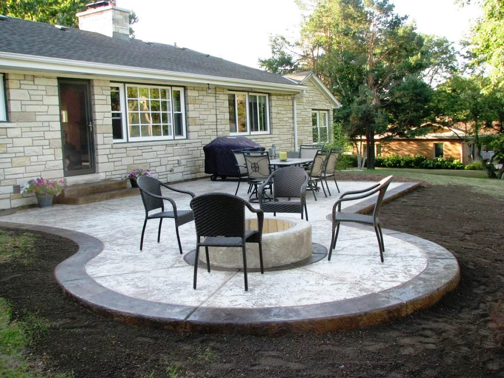 Simple Concrete Patio Design Ideas Yard