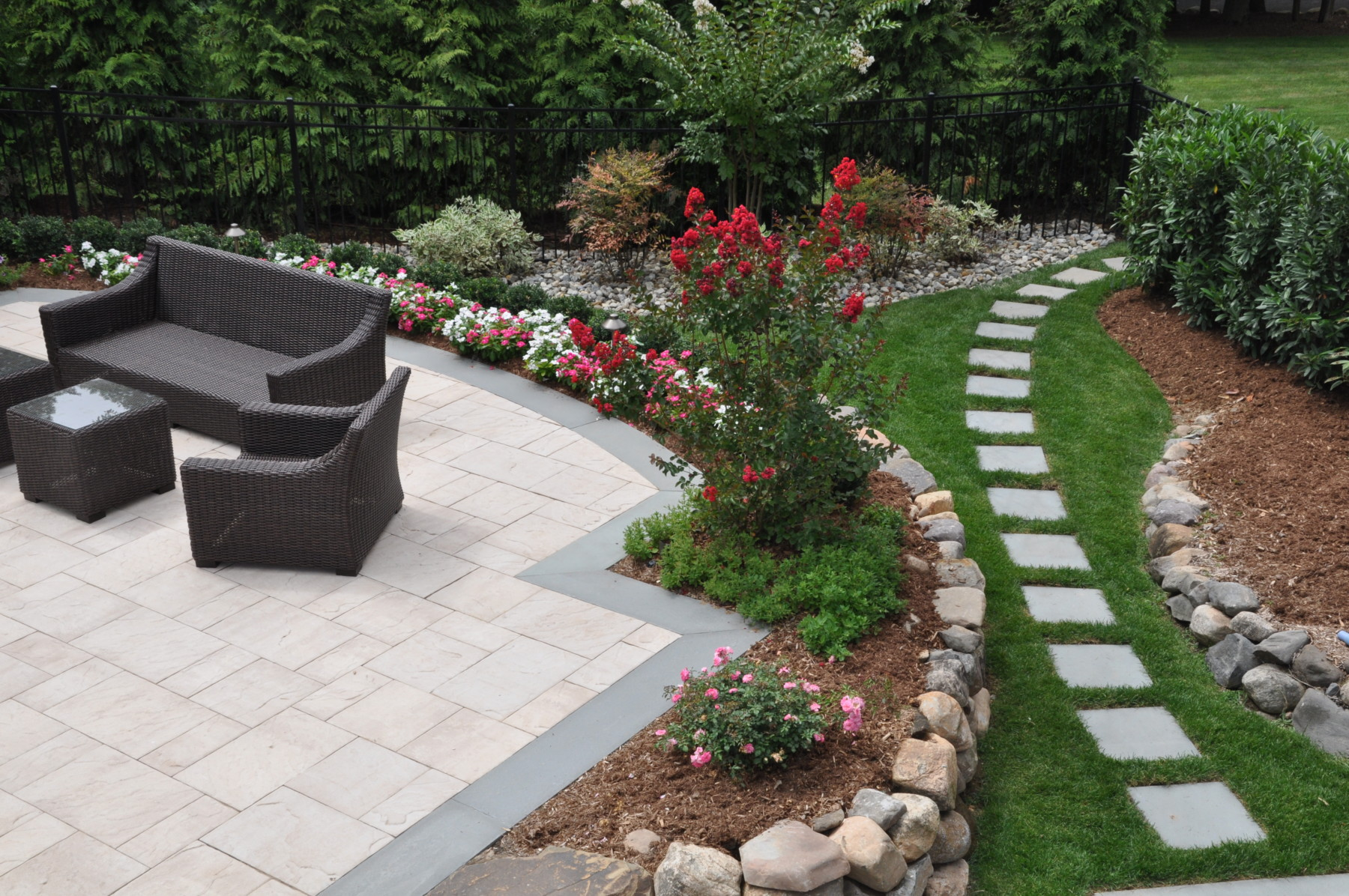 Image of: Small Patio Landscaping Ideas Beautiful