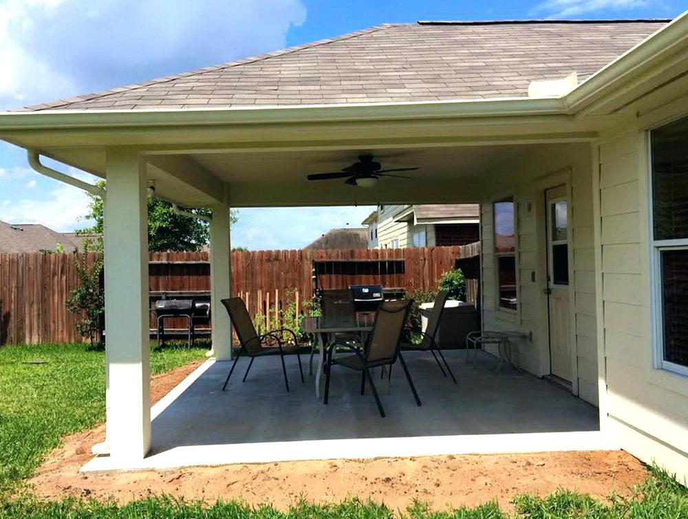Image of: Smart Build a Patio Cover