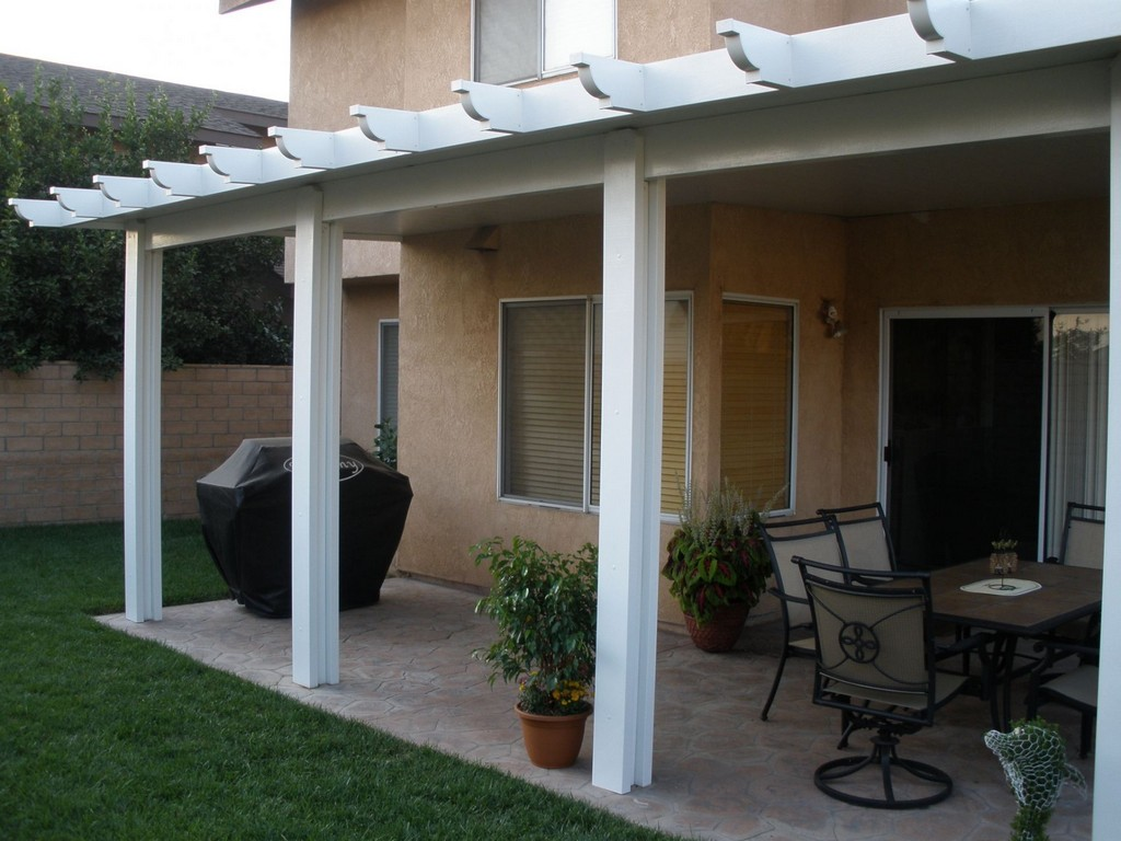 Image of: Stylish Insulated Patio Cover