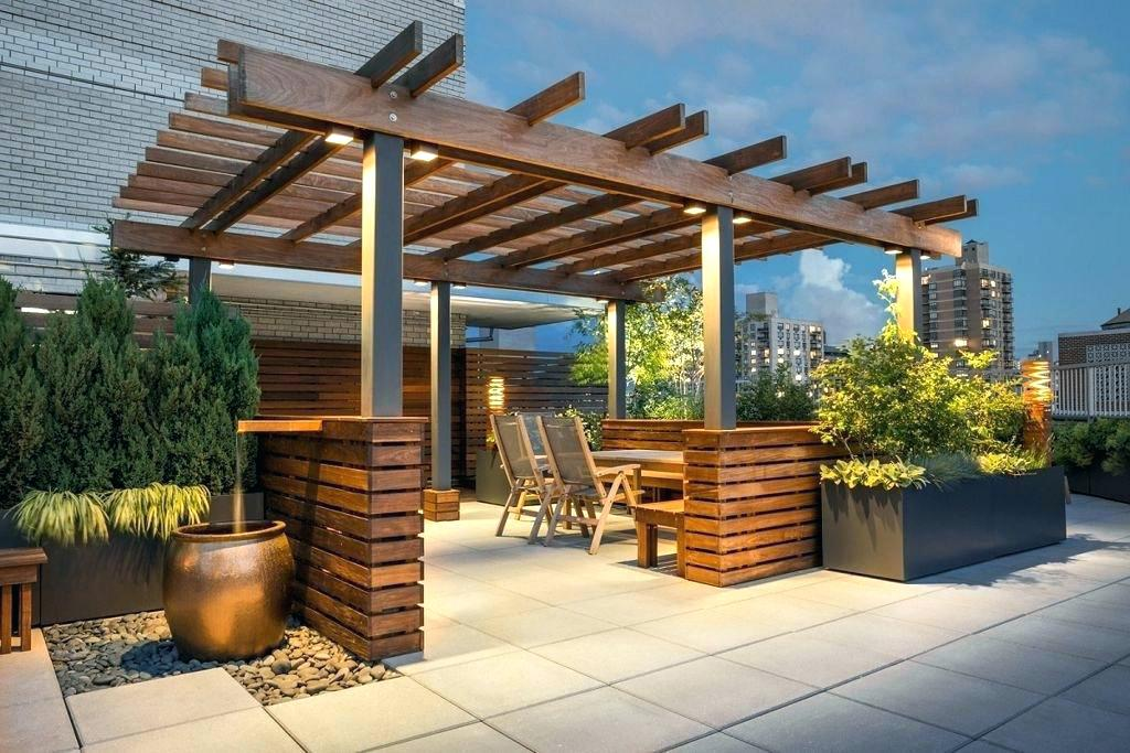 Image of: Stylish Rooftop Patio Ideas