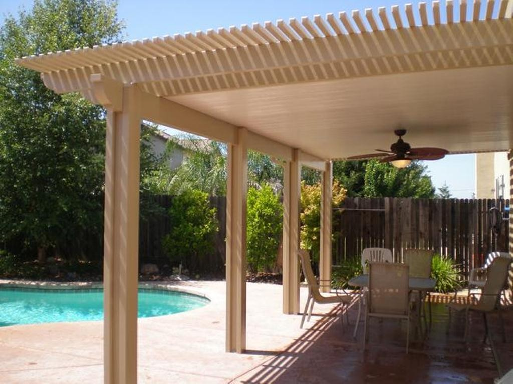 Image of: System Patio Cover Plans