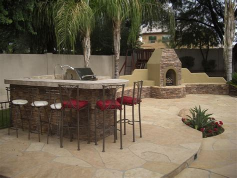 Image of: Traditional Backyard Grill Patio Ideas