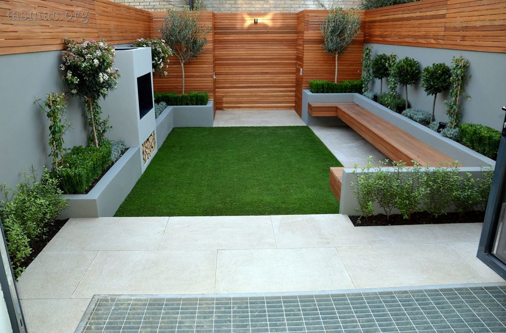 Image of: Urban Patio Landscape Ideas