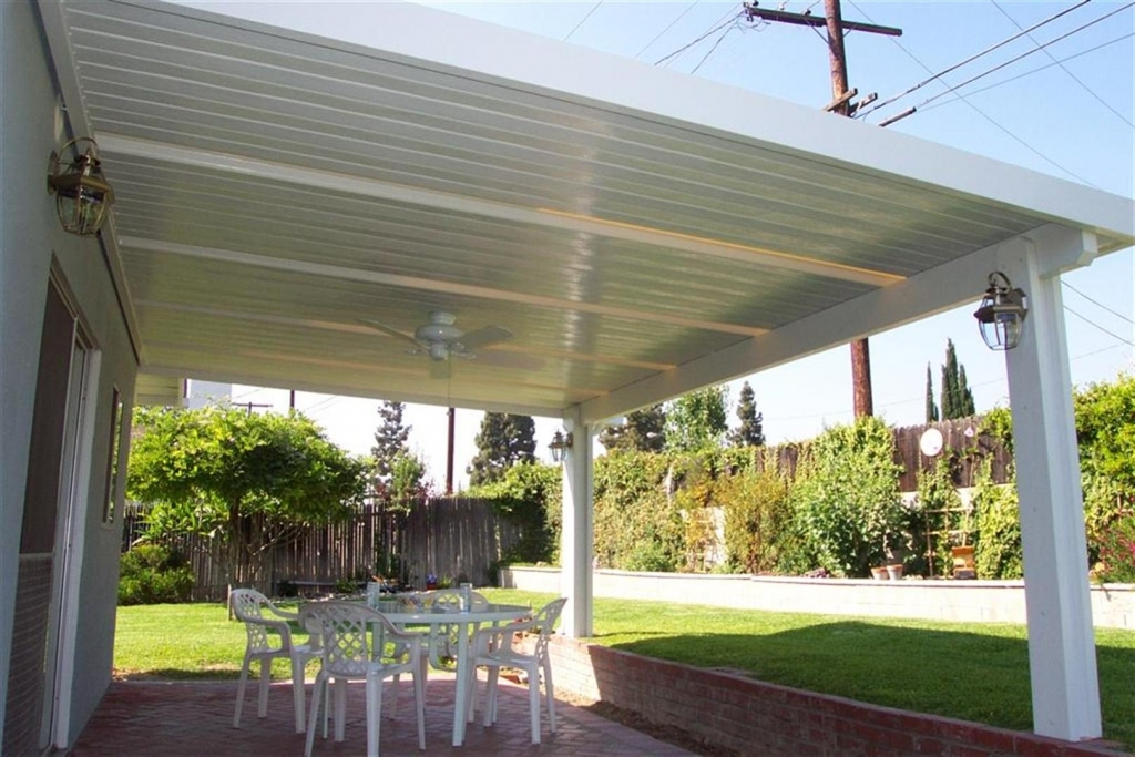 Image of: Vinyl Patio Cover ideas