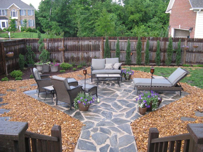 Wonderful Flagstone Patio Ideas
