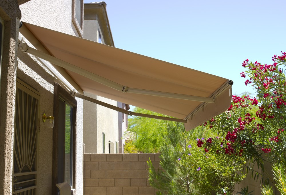 Image of: with Hood Patio Awning Cover