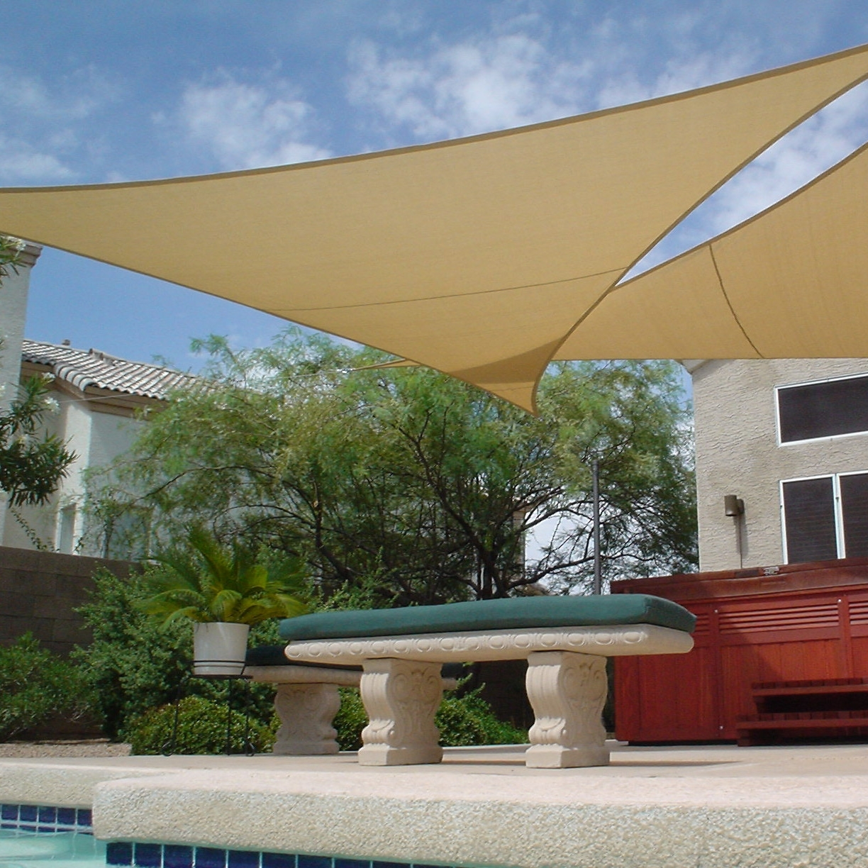 Image of: Alumawood Patio Cover Sun Shade