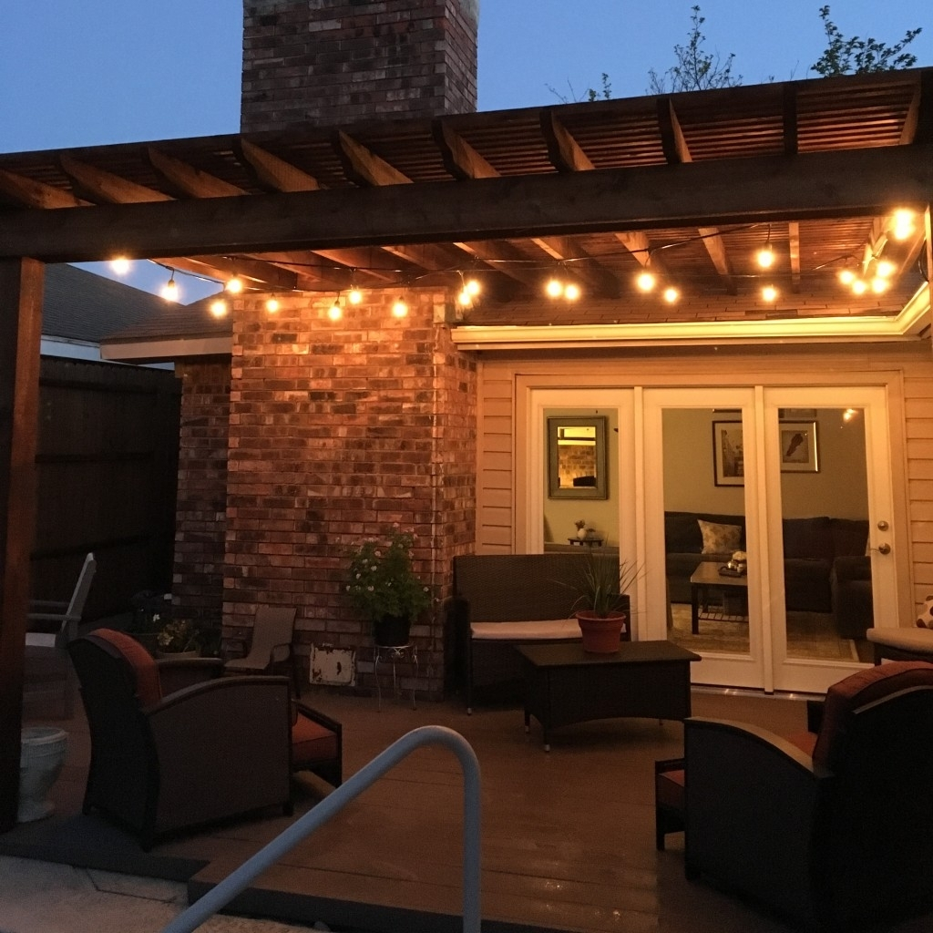 Combination Pergola And Patio Cover