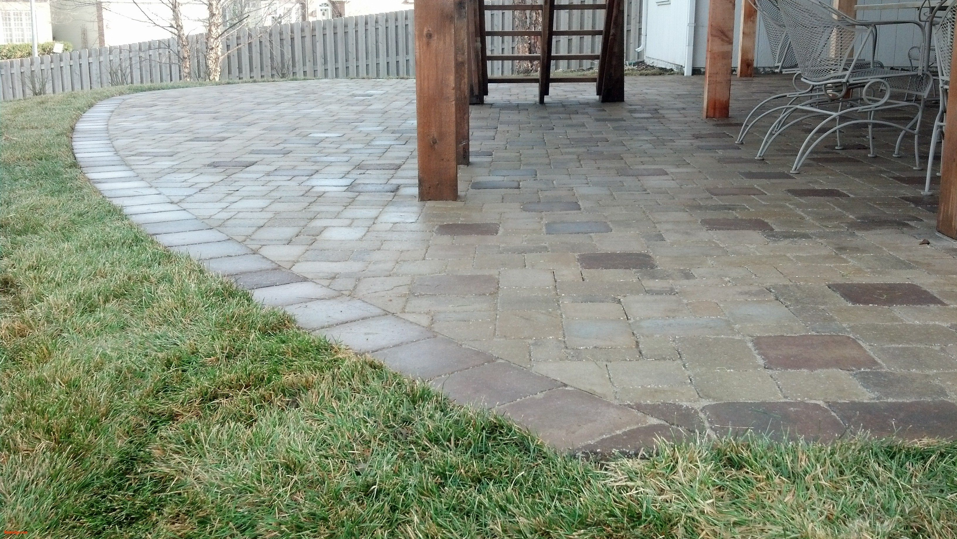 Image of: Paver Patio Design Ideas Plan
