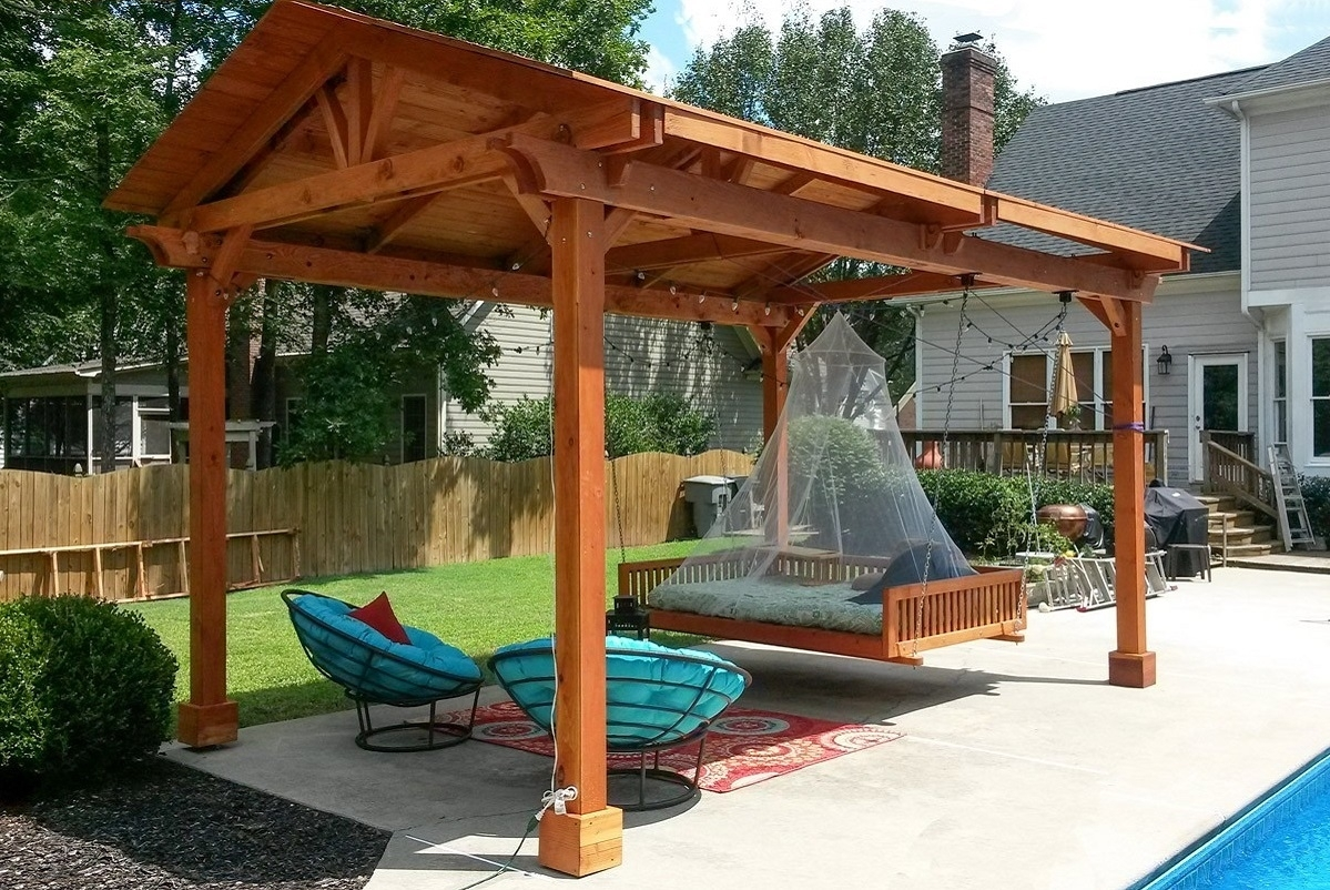 Image of: Pergola Patio Cover Allumawood